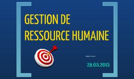 GRH présentation de L'évaluation du 360 degré 28.03.2013