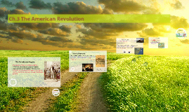 Ch.3 The American Revolution