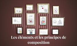 les éléments et les principes de composition