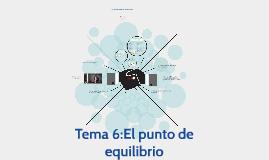 GRUPO 6 - PUNTO DE EQUILIBRIO