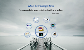 2012 WSES Welcome Back