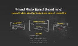 National Alliance Against Student Hunger