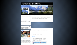 Karate Kid a Great Movie