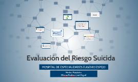 Evaluación del Riesgo Suicida
