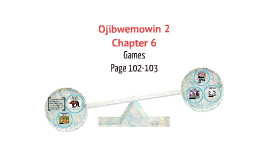 Ojibwemowin 2: Chapter 6 - Games