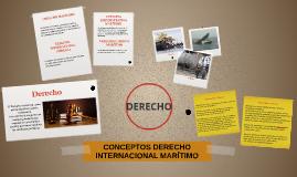 CONCEPTOS DERECHO INTERNACIONAL MARÍTIMO