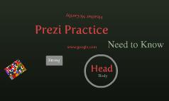 Prezi Practice