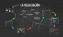 Copy of LA NEGOCIACIÓN