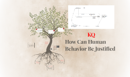 How Can Human Behavior Be Justified