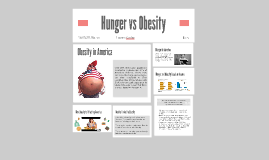 Hunger vs Obesity