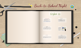Back-to School Night - English 9 and Read 180