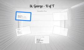 University of Toronto - St. George