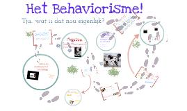 Behaviorisme