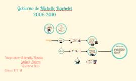 Gobierno de Michelle Bachelet