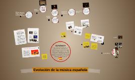 Copy of Evolución de la música española