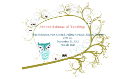 Art and Science of Teaching LT A