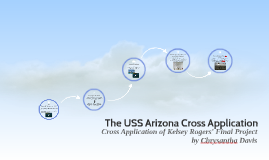 The USS Arizona Cross Application