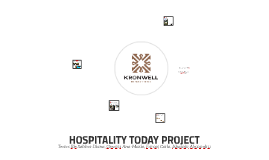 HOSPITALITY TODAY PROJECT