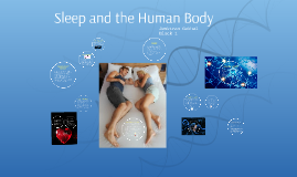 Sleep and the Human Body