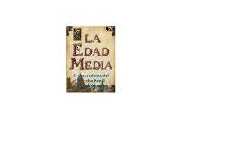 EL DERECHO PENAL EN LA EDAD MEDIA