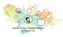 Animal Cosmetic Testing
