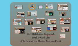 2017 Oklahoma Sequoyah Book Award List