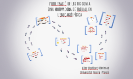L'UTILITZACIÓ DE LES TIC COM A