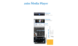 Axiss Media Player