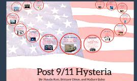 Post 9/11 Hysteria