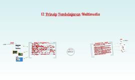 12 prinsip pembelajaran multimedia