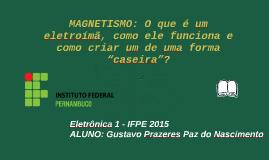 Eletroímã - IFPE 2015