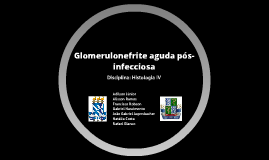 Glomerulonefrite aguda pós-infecciosa