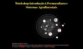 Copy of Ecologia da Floresta: design, implantação e manejo de sistemas agroflorestais