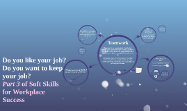 Copy of Pt. 3/ Teamwork: Soft Skills for the Workplace