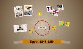 Egypt 1848-1854
