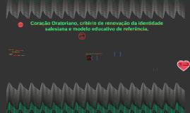 Copy of Coração Oratoriano, critério de renovação da identidade sale