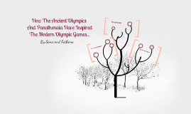 How The Ancient Olympics And Panathenaia Have Inspired The Modern Olympic Games...