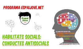 HABILITATS SOCIALS I CONDUCTES ANTISOCIALS 2016-2017