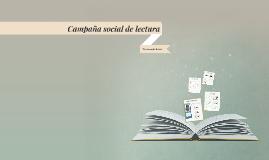 Campaña social de lectura