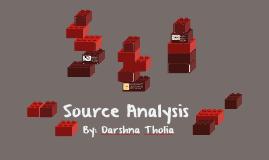 Source Analysis