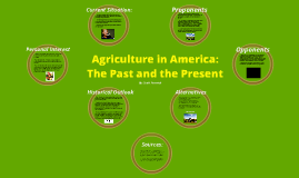The Importance of Agriculture in America