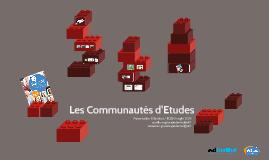 Les Communautés d'Etudes - 2015