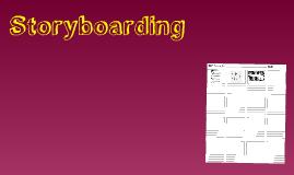 Copy of Storyboarding