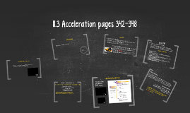Copy of 11.3 Acceleration pages 342-348