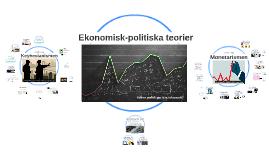 Ekonomisk-politiska teorier
