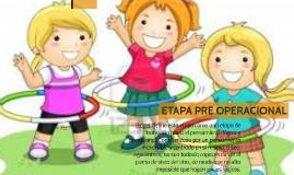 ETAPA PREOPERACIONAL