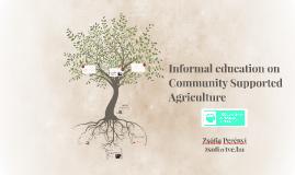Informal education on CSA