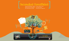 Copy of Incendios Forestales
