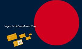 Kinas moderne historie