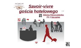Savoir-vivre gościa hotelowego